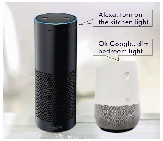 Alexa Google Smart Home Red Deer Alberta